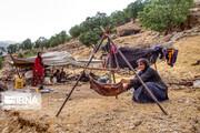 تصاویر | زندگی عشایر بختیاری در روزهای پاییزی