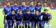 نیمکت حریف ایران در مقدماتی جام جهانی ژاپنی شد