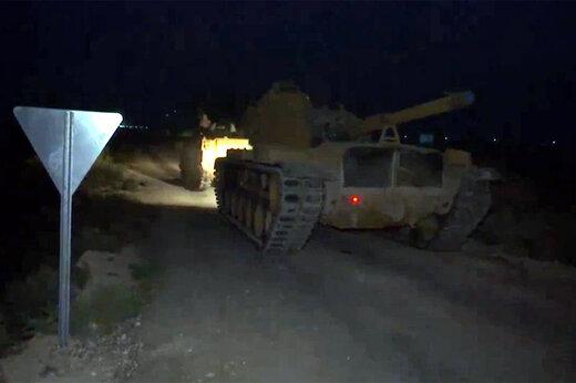 فیلم |  استقرار نیروهای بیشتری از ارتش ترکیه در مرز با سوریه