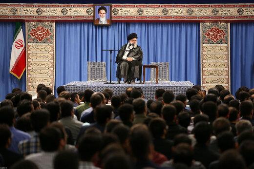 دیدار نخبگان و استعدادهای برتر علمی با رهبر معظم انقلاب اسلامی