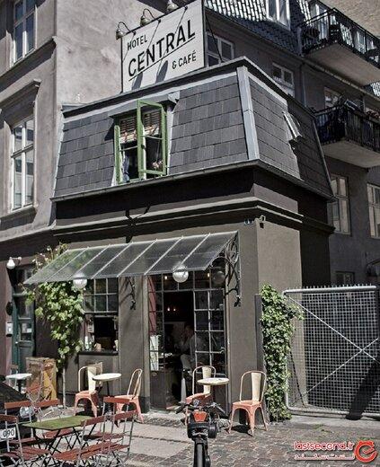 هتل سنترال کپنهاگ، کوچکترین هتل جهان با ظرفیت ۲ نفر!
