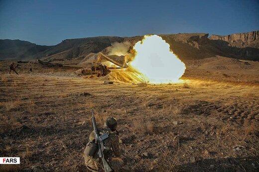 فیلم و عکس   رزمایش غیرمترقبه ارتش در شمال غرب کشور