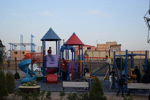 افتتاح نخستین پارک روستایی در شمالغرب کشور/ آرزوی کودکان یک روستا برآورده شد