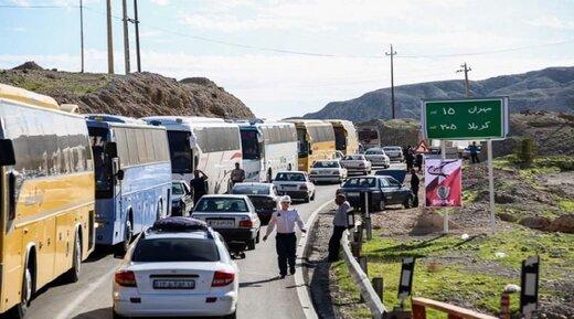 محدودیتهای ترافیکی ایام اربعین حسینی اعلام شد