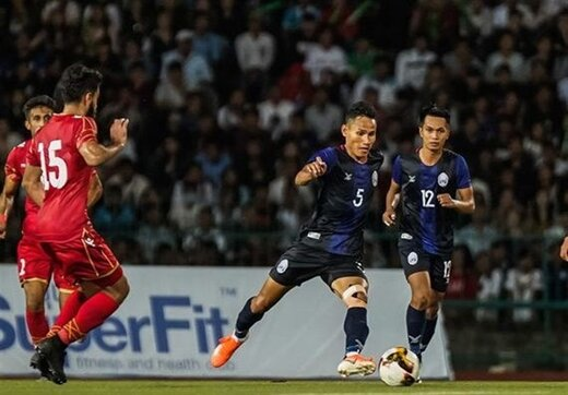 جالبترین بازیکن ایران و تاثیرگذارترین بازیکن کامبوج چه کسانی هستند؟