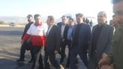 واعظی از مرز شلمچه هم بازدید کرد /دولت قدردان خدمات مردم خوزستان به زائران اربعین است