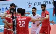 برد مقتدرانه جوانان والیبال ایران مقابل نماینده آفریقا