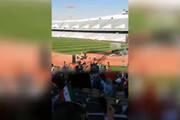 فیلم | حال و هوای جایگاه زنان در استادیوم آزادی