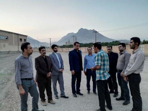 بازدید مدیر کل ورزش و جوانان لرستان از ورزشگاه شهید سبزی پرور خرمآباد