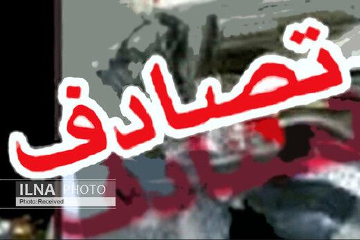 پنج نفر کشته و زخمی در تصادف جاده مشگین شهر