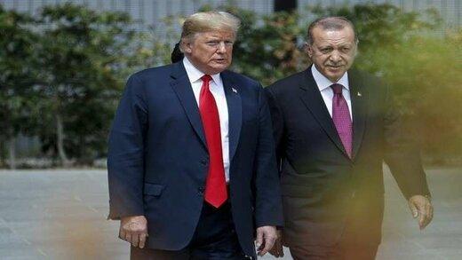 آنکارا: اردوغان و ترامپ درباره عملیات «چشمه صلح» توافق کردند