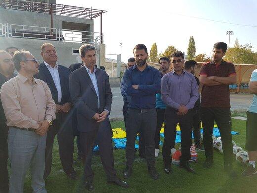 با حضور استاندار آذربایجانغربی:  بازیکنان نود ارومیه به تمرین بازگشتند