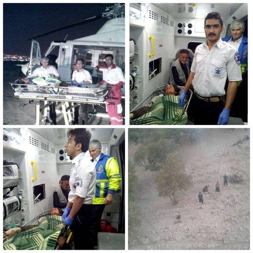 حمله خرس به چوپان ۲۴ ساله کوهرنگی
