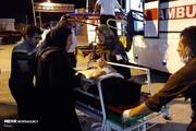 اسامی  و تصاویر مجروحان تصادف ۲ اتوبوس زائران ایرانی در  عراق