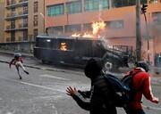 تصاویر | از خشم برای گرانی سوخت تا فرار زن سوری از ارتش ترکیه