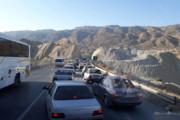فیلم | ترافیک بیسابقه تا ۷۰ کیلومتری مرز مهران