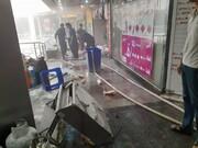 فیلم و عکس   انفجار در مجتمع تجاری بوستان در میدان پونک