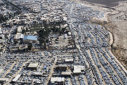 فیلم   تصاویر هوایی از انبوه خودروهای پارکشده در مرز مهران
