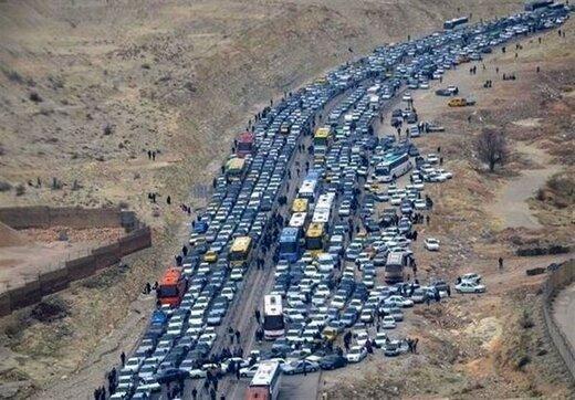 جاده اسلامآباد غرب- قصرشیرین بسته شد