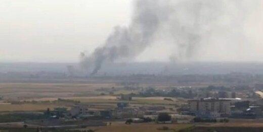 ترکیه نیروهای ویژه آمریکا در کوبانی را هدف قرار داد، اشتباهی