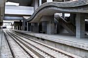 متروی شهر جدید هشتگرد روی ریل نشست