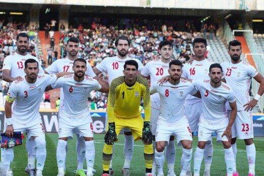 تیم ملی مقابل بحرین سفیدپوش شد