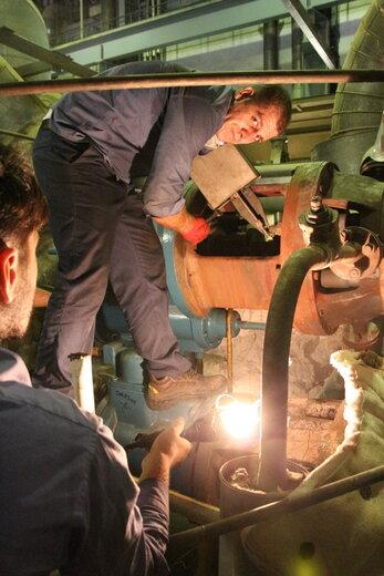 خروج واحد ۲ بخار نیروگاه نکا جهت انجام تعمیرات اساسی از مدار تولید