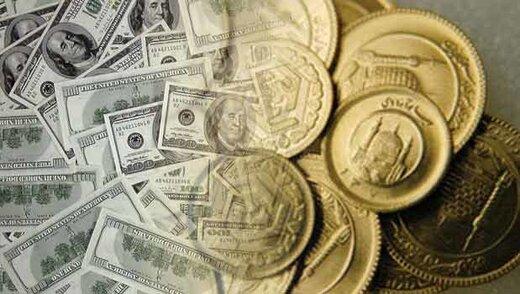 ریزش نرخها در بازار سکه و طلا