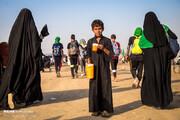 تصاویر | عزیمت زائران اربعین از جنوب عراق به سمت کربلا