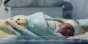 تولد دوقلوها توسط تکنسین اورژانس/ عکس