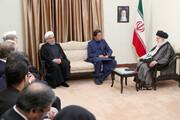رهبر انقلاب به عمران خان: پاسخ ما به جنگ، پشیمان کننده خواهد بود