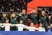 عکس | چرا بازیکنان تیم ملی ایتالیا اینگونه سرود ملیشان را فریاد میزنند.