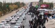 ترافیک ورودی شهر مهران فروکش کرد