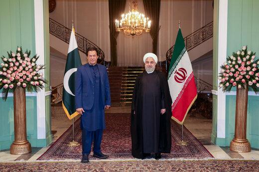 استقبال روحانی از نخست وزیر پاکستان