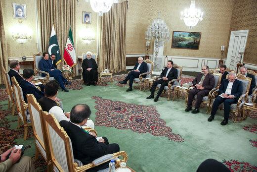 دیدار روحانی با نخست وزیر پاکستان