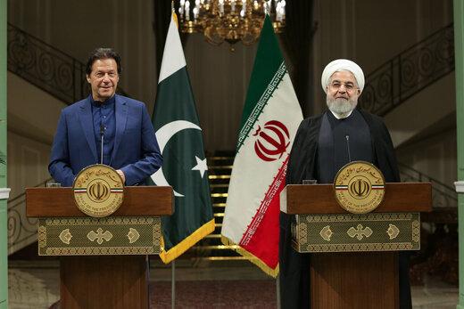 "President Rouhani, PM Imran Khan discuss US ""economic terrorism"" against Iran"