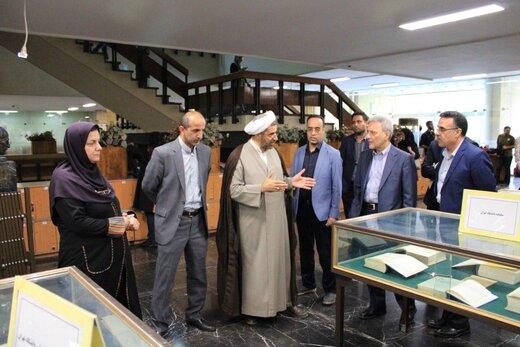 بخش نشریات قدیمی فارسی و انگلیسی کتابخانه دانشگاه تهران افتتاح شد