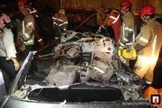 تصاویر | ۴۰۵ زیر کامیون لِه شد، ۳ نفر کشته شدند