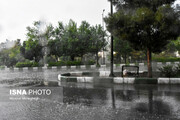 اطلاعیه هواشناسی درباره وقوع رگبار و رعد و برق در شش استان کشور