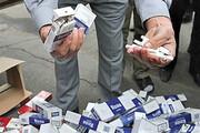 کشف ۵۰۰ هزار نخ سیگار قاچاق در مرکز تهران