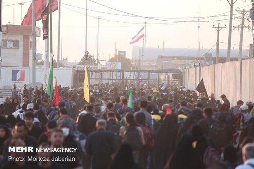 ۳۶۰ هزار زائر از مرزهای شلمچه و چذابه به کشور بازگشتند