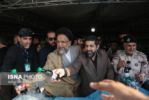 بازدید وزیر اطلاعات از مرز شلمچه