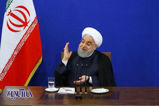 صداوسیمایی که دولت روحانی با آن میسازد/پاسخ همراه با خنده به سوال خبرنگار کیهان/گلایه از تفسیرهای شورای نگهبان/حواشی نشست خبری رئیسجمهور