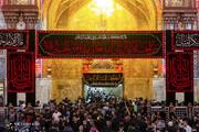 تصاویر | حال و هوای حرم امام حسین(ع) در آستانه اربعین