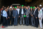 تصاویر   بازدید شهردار تهران از پروژههای زیرگذر گیشا و استاد معین