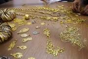 قیمت طلا به کمتر از ۴۰۰ هزار تومان رسید