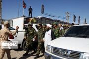 حضور دو فرمانده بلندپایه ارتش در مرز خسروی و مهران