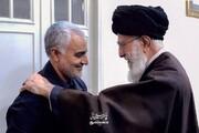 ببینید | پیام واضح آیت الله خامنهای به داعش و آمریکا در فیلم سایت سردار قاسم سلیمانی