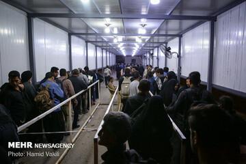 کمبود اتوبوس برای بازگشت زائران در خوزستان وجود ندارد