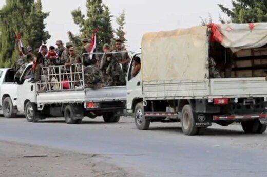 فیلم  | رویارویی ارتش سوریه و آمریکا در مسیر «منبج»
